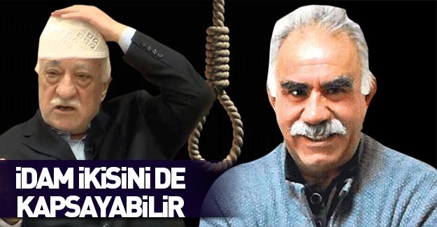 Terör ve tecavüze idam… Öcalan ve Gülen'i de kapsayabilir