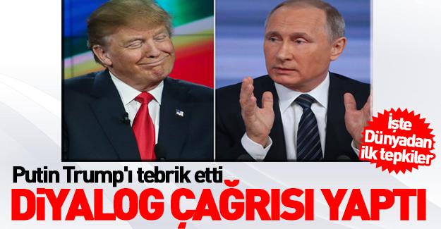 Trump'ın seçilmesine dünyadan ilk tepkiler