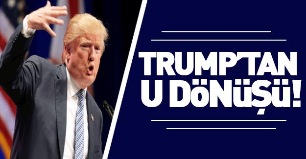 Trump'tan seçimden sonra 'U dönüşü'