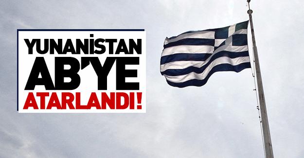 Yunanistan da AB'ye sert çıktı!