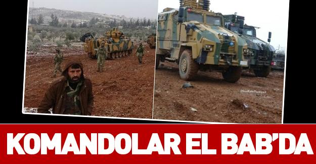 500 komando El Bab yolunda