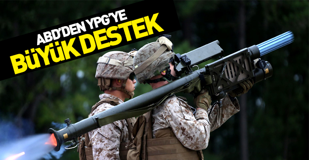ABD'den YPG'yle ilgili skandal karar!