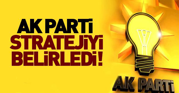 AK Parti 'Başkanlık Sistemi'nde stratejiyi belirledi!