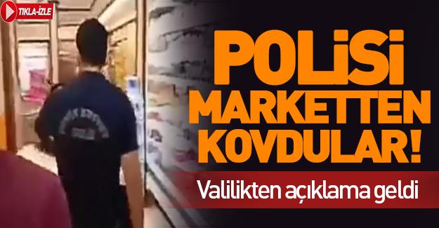 Ankara Mamak'da polise sözlü saldırı!