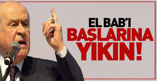 Bahçeli'den CHP'ye çok sert sözler!
