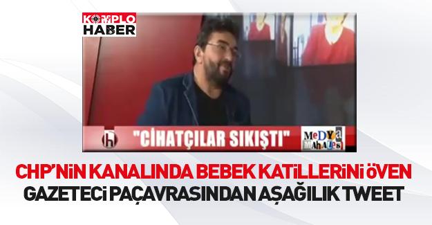 Bebek katili sevici Ömer Ödemiş'ten aşağılık tweet