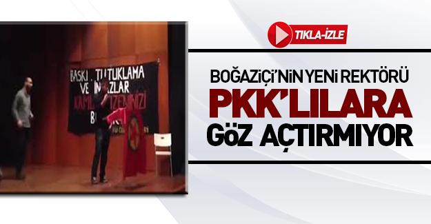 Boğaziçi Üniversitesi rektörü PKK'ya geçit vermedi