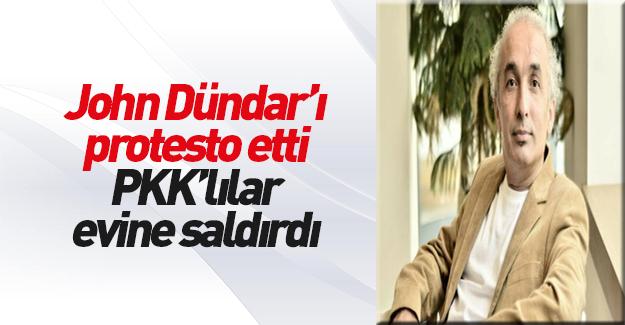 Can Dündar'ı protesto eden Mehmet Çek'in evine saldırı