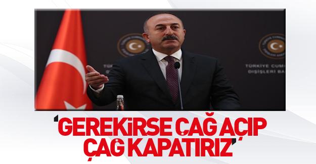 Çavuşoğlu'ndan gündeme dair açıklamalar