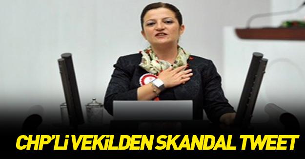 CHP'li vekilin terör olayından sonra attığı skandal tweet