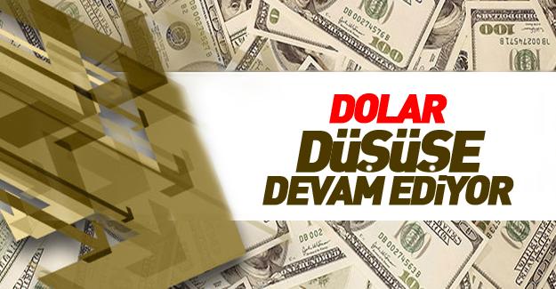 Dolar düşüşe devam ediyor