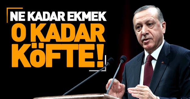 Erdoğan: AB bize ne verirse onu alır!