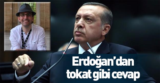 Erdoğan'dan Emin Çapa'ya tokat gibi cevap!