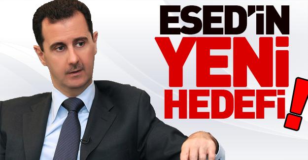 Esed'in yeni hedefi İdlib mi?