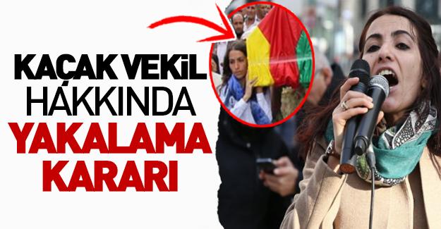HDP'li 'kaçak vekil' hakkında yakalama kararı