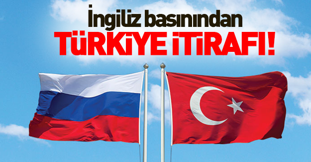 İngiliz basınından Türkiye itirafı!