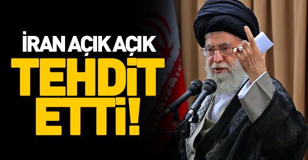 İran Hamas'ı tehdit etti!