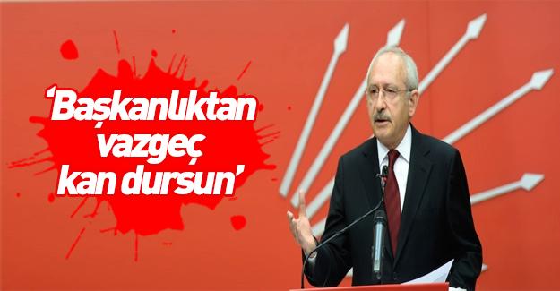 Kılıçdaroğlu'na göre terörün sebebi başkanlık sistemi