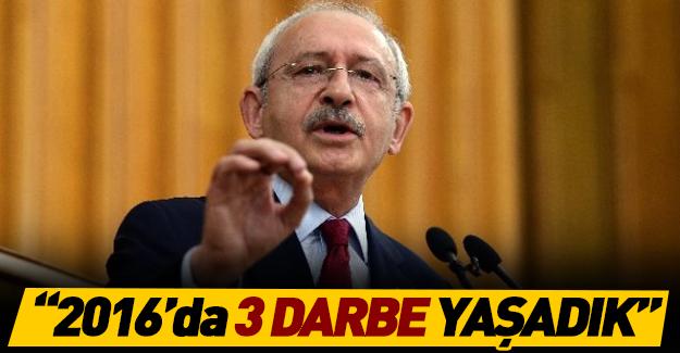 Kılıçdaroğlu'ndan darbe girişimiyle ilgilli çarpıcı açıklamalar!
