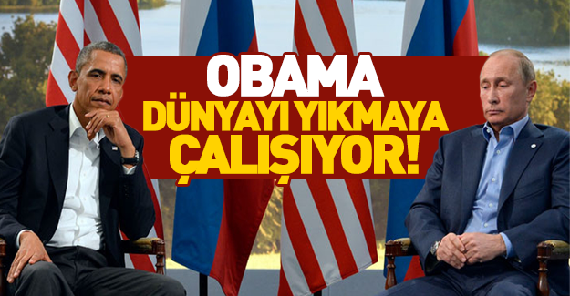 Kremlin'den Obama'ya sert sözler