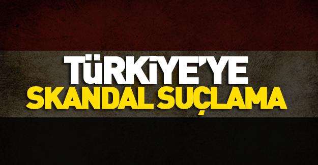 Mısır'dan Türkiye'ye skandal suçlama