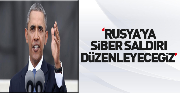 """Obama'dan Rusya'yı """"hackleme"""" sözü"""
