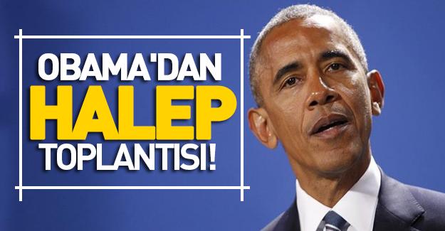 Obama, Halep konusunda talimat verdi