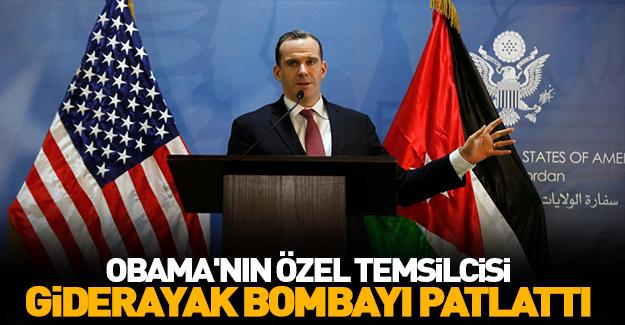 Obama'nın temsilcisi giderayak bombayı patlattı