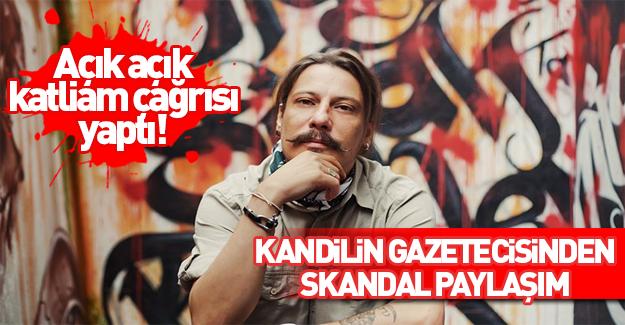 PKK sevici Erk Acarer'den skandal paylaşım!