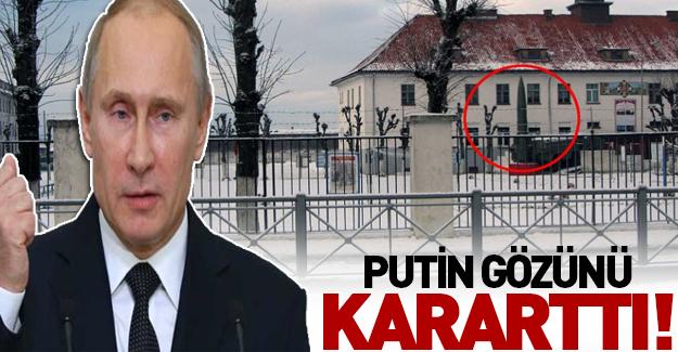 Putin'in gizli kalesi görüntülendi!