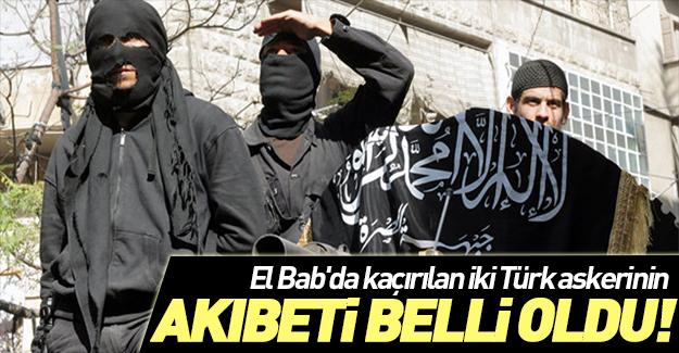 Rehin alınan Türk  askerleriyle ilgili flaş gelişme