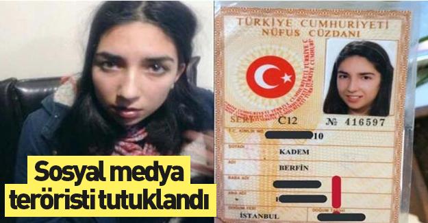 Sosyal medya teröristi tutuklandı