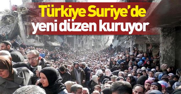 Türkiye, Suriye'de yeni düzen kuruyor