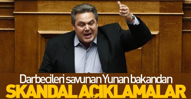 Yunan bakandan skandal açıklamalar