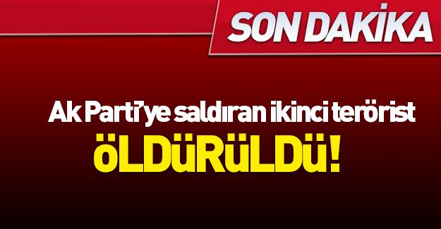Ak Parti ve Emniyet'e saldıran terörist, Tekirdağ'da yakalandı