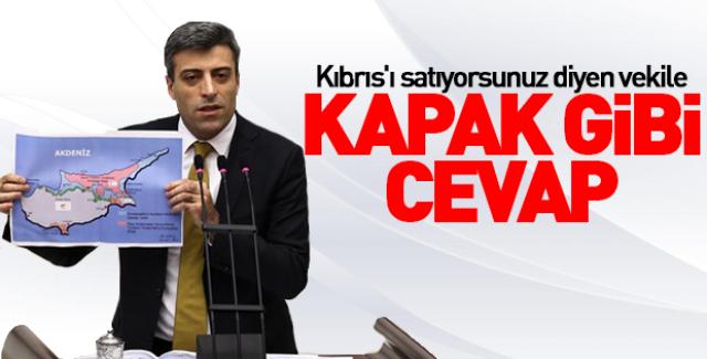 AK Partili Öztürk'ten CHP'li Yılmaz'a 'Kıbrıs' yanıtı!