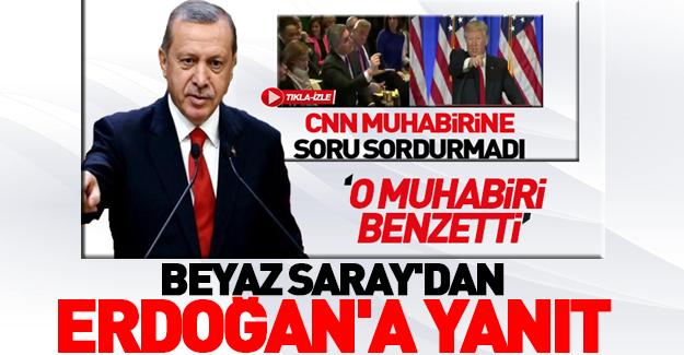 Beyaz Saray'dan Erdoğan'a 'CNN' yanıtı