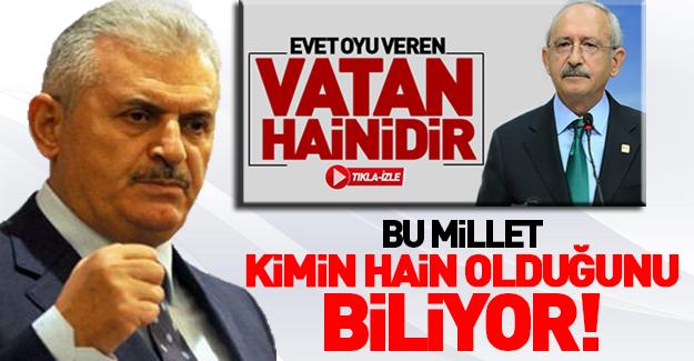 Binali Yıldırım'dan Kılıçdaroğlu'na sert sözler!