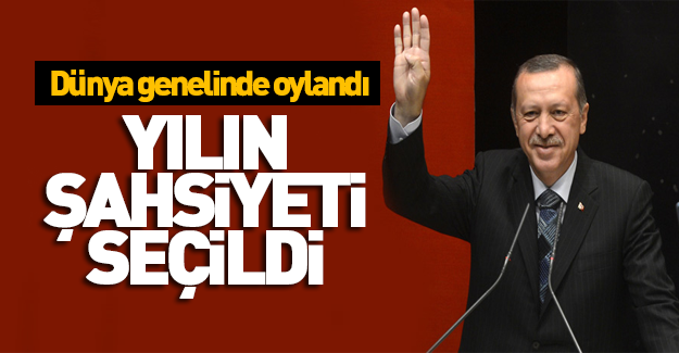 Dünya 2016'da Erdoğan'ı seçti