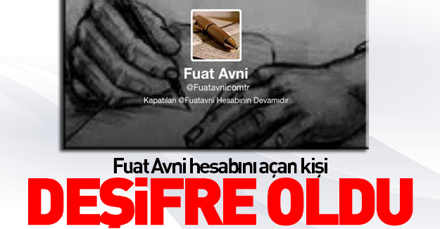 Fetö'nün Fuat Avni'si deşifre oldu!
