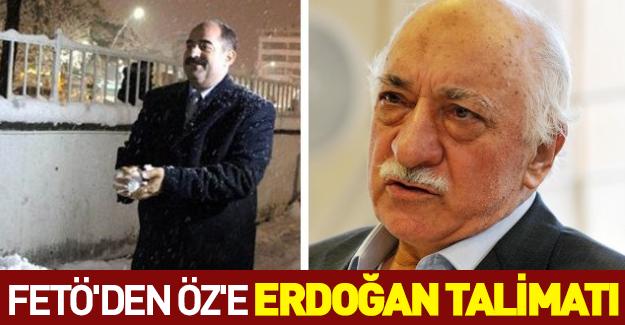Gülen'den Zekeriya Öz'e Erdoğan talimatı!