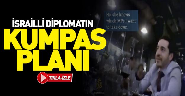 İsrailli diplomatın skandal görüntüleri!