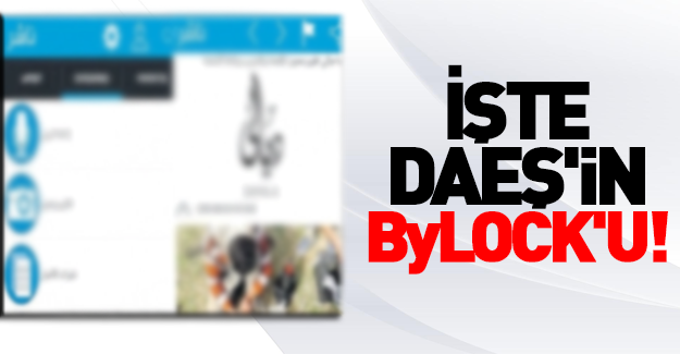 İşte DAEŞ'in Bylock'u!