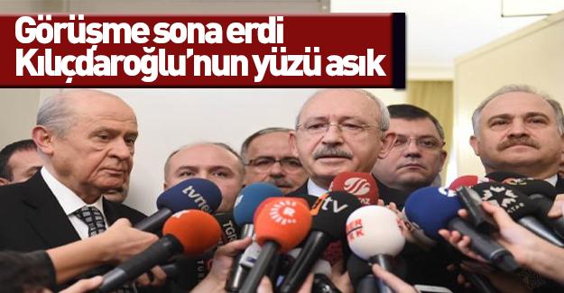 SON DAKİKA: Kılıçdaroğlu Bahçeli görüşmesi sona erdi