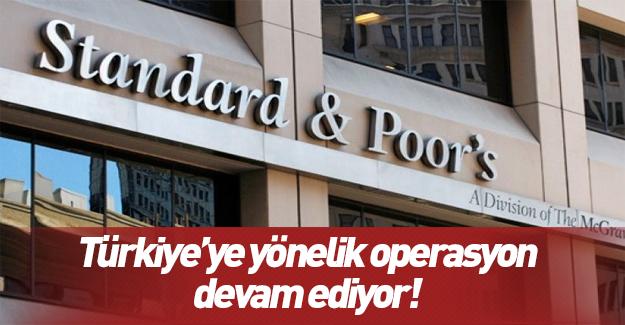 S&P gözüyle Türkiye'nin notu
