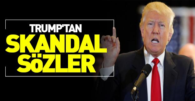 Trump'tan Guantanamo için skandal sözler