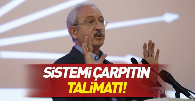 Kılıçdaroğlu'ndan 'Sistemi çarpıtın' talimatı: O mekanlara gidin ve...