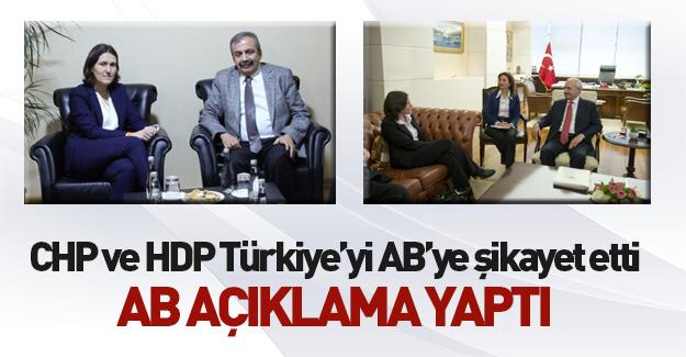 Türkiye'yi AB'ye şikayet ettiler!