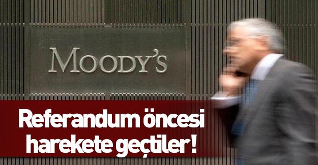 Moody's referandum öncesi harekete geçti!