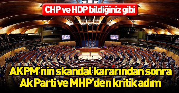 AKPM'nin kararına karşı Türkiye'den ilk adım!